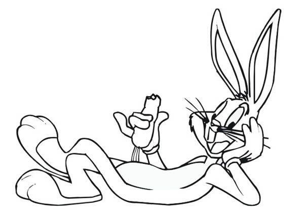 Bugs Bunny Coloring Pages Bugs Bunny Coloring Pages Pinterest