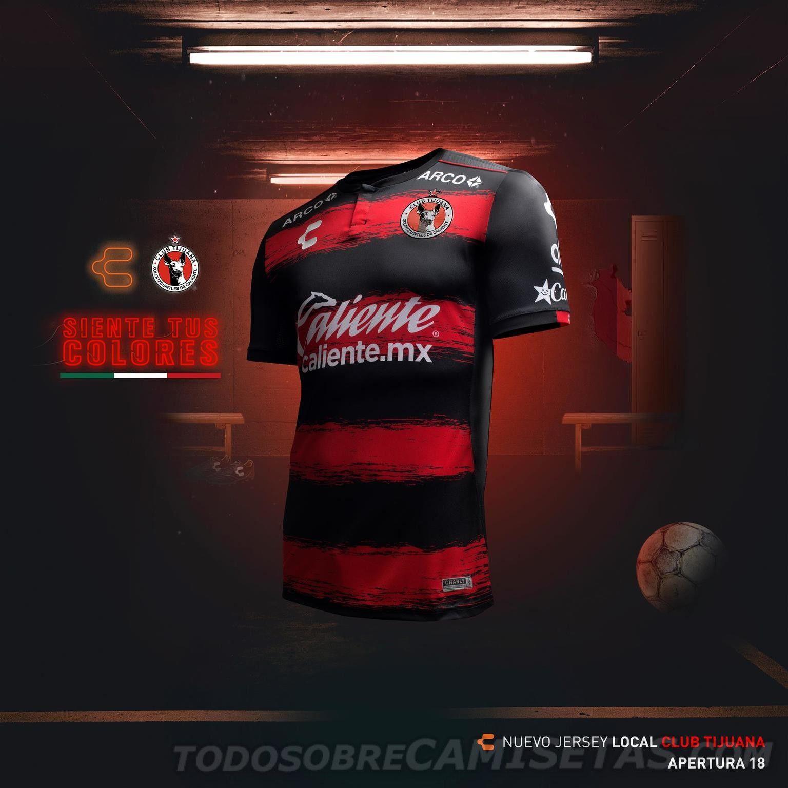 0b6a17185 Xolos de Tijuana Charly Soccer Jerseys 2018-19 | QPR | Mens tops ...