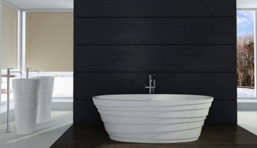 Wir Bieten Ihnen Hier Eine Freistehende Badewanne Mit Einem Siphon
