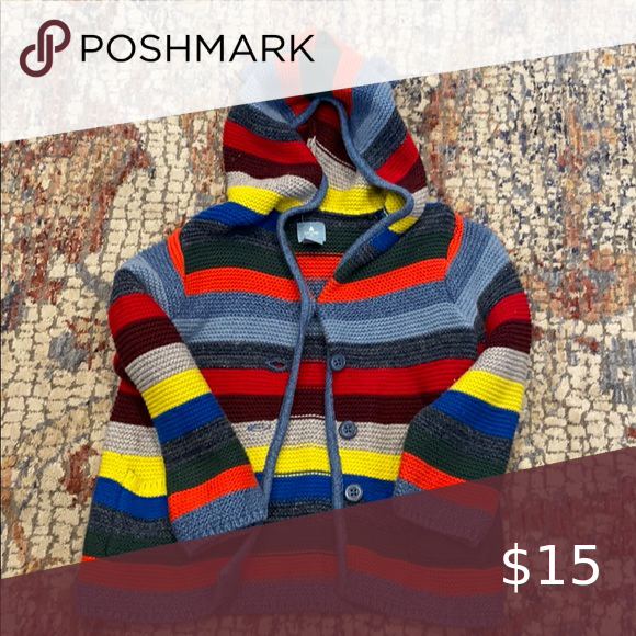 Baby gap striped sweater