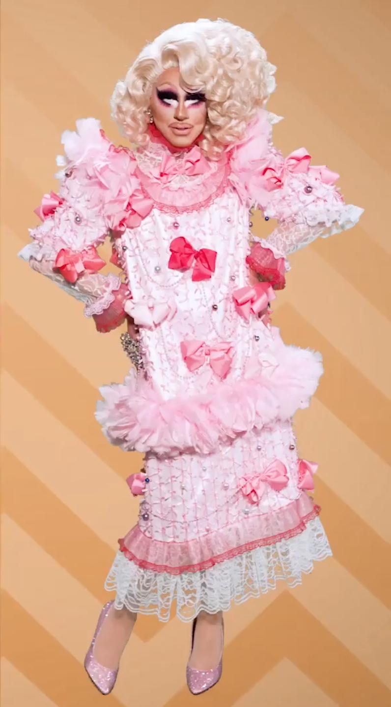 38d550453461 Trixie Mattel serving ugly dress redemption • RuPaul s Drag Race All-Stars  • Season 3