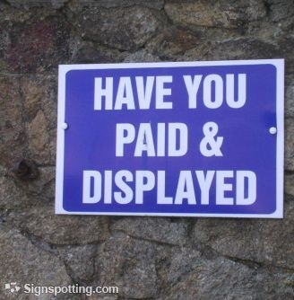 pay to display