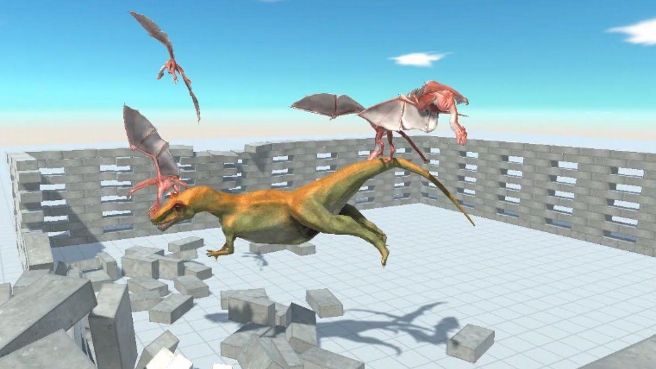 Mini Dragon Wyvern Team Vs All Units In Cage Animal Revolt Battle Simulator Youtube In 2021 Mini Dragon Wyvern Battle