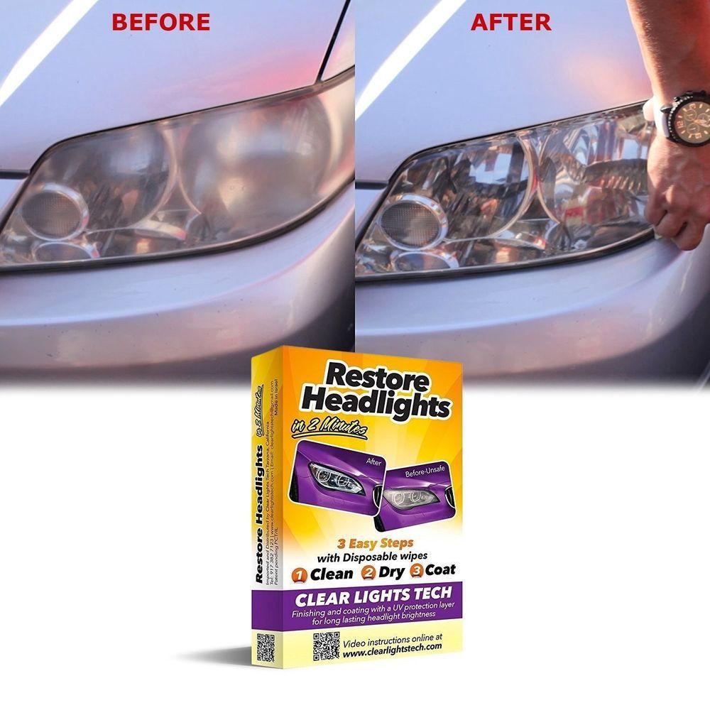 Best Lens Restoration System Headlight
