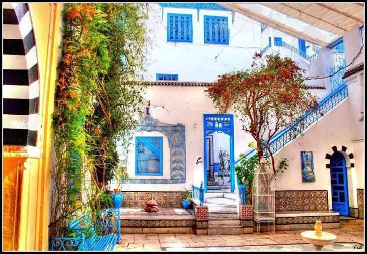 Loved This House In Sidi Bou Said (Tunisia)