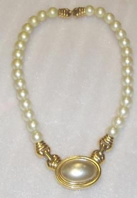 vintage napier jewelry Vintage Costume Jewelry Napier Faux Pearl