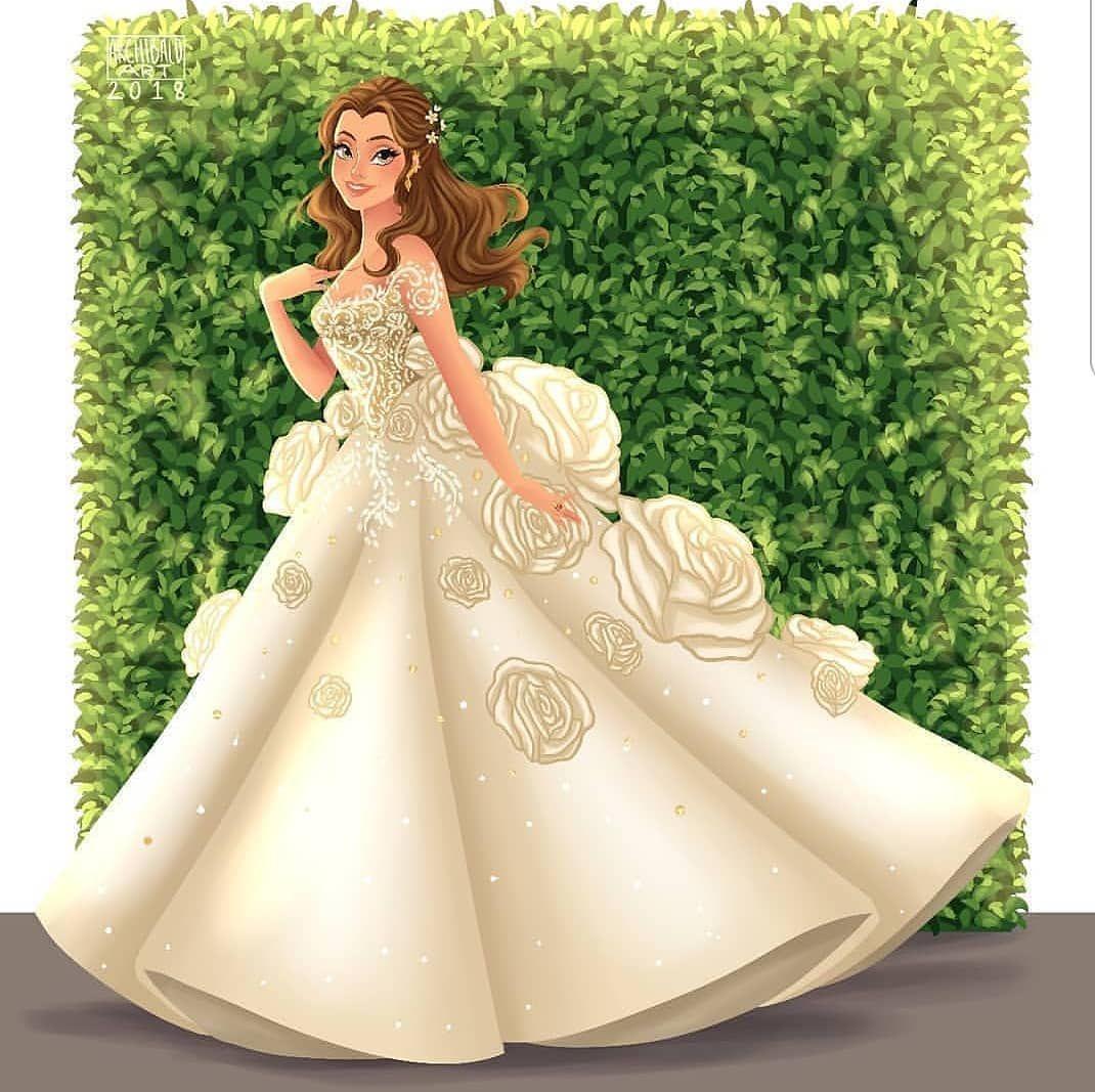 Belle By Archibald Art Disney Princesse Disney