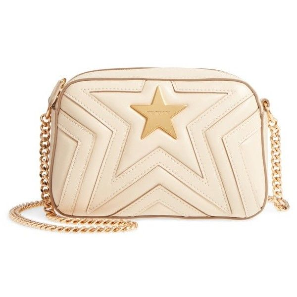 Quilted Faux Leather Shoulder Bag - Cream Stella McCartney VGwjgn0
