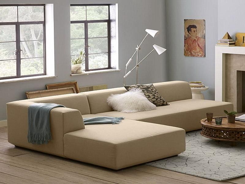 Quick Guide to Buying a Sectional Sofa | Cream leather sofa, Small ...