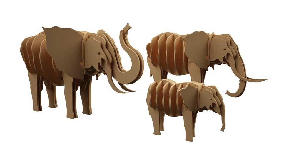 Elephant Family Two - Wild | MakeCNC.com