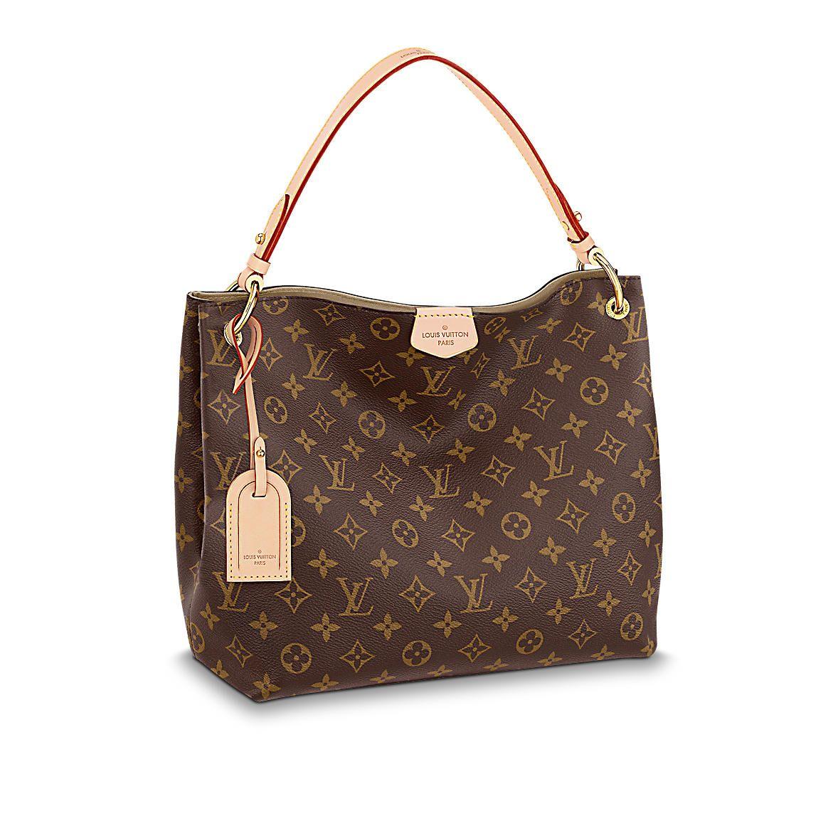 Louis Vuitton Graceful Pm Handtaschen Ledertasche Damen Taschen