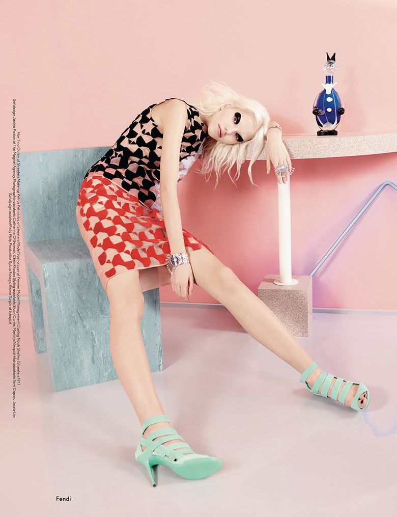 Sasha Luss by Ben Toms for AnOther Spring/Summer 2014