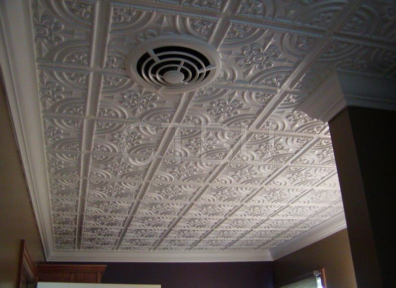 Plastic Glue Up Drop In Decorative Ceiling Tiles Ceiling Tiles By Us Plastic Ceiling Tiles Plastic Ceiling Drop Ceiling Tiles