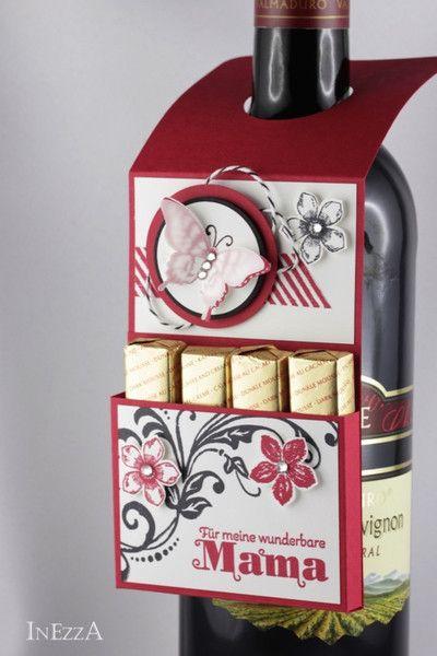 flaschenanh nger muttertag von inezza geschenkest bchen. Black Bedroom Furniture Sets. Home Design Ideas