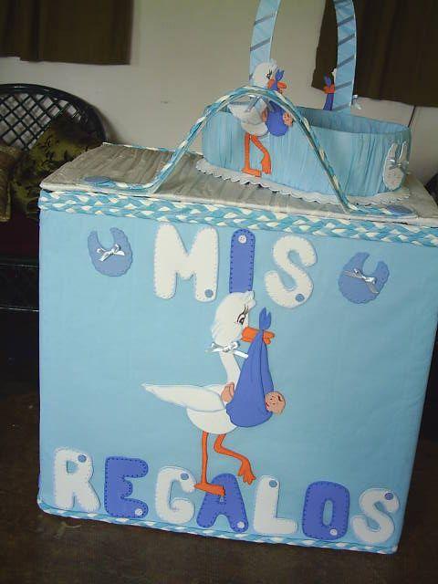 Cajas de regalos para baby shower - Imagui | Caja de Regalos ...