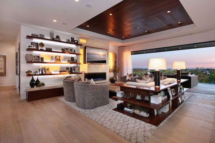 Plafond design: 86 idées merveilleuses pour votre intérieur!