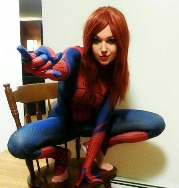 Spiderman Female Cosplay Cosplay Female Spiderman Cosplay