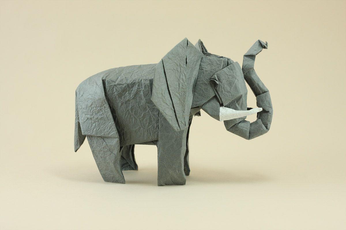 Elephant origami african elephant beautiful origami pinterest elephant origami african elephant jeuxipadfo Choice Image
