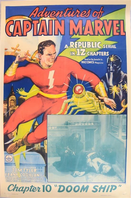 captain marvel film 1941