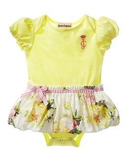 Juicy Couture Floral Dress Bodysuit