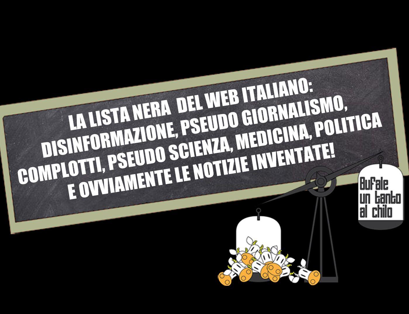 La black list dei siti italiani