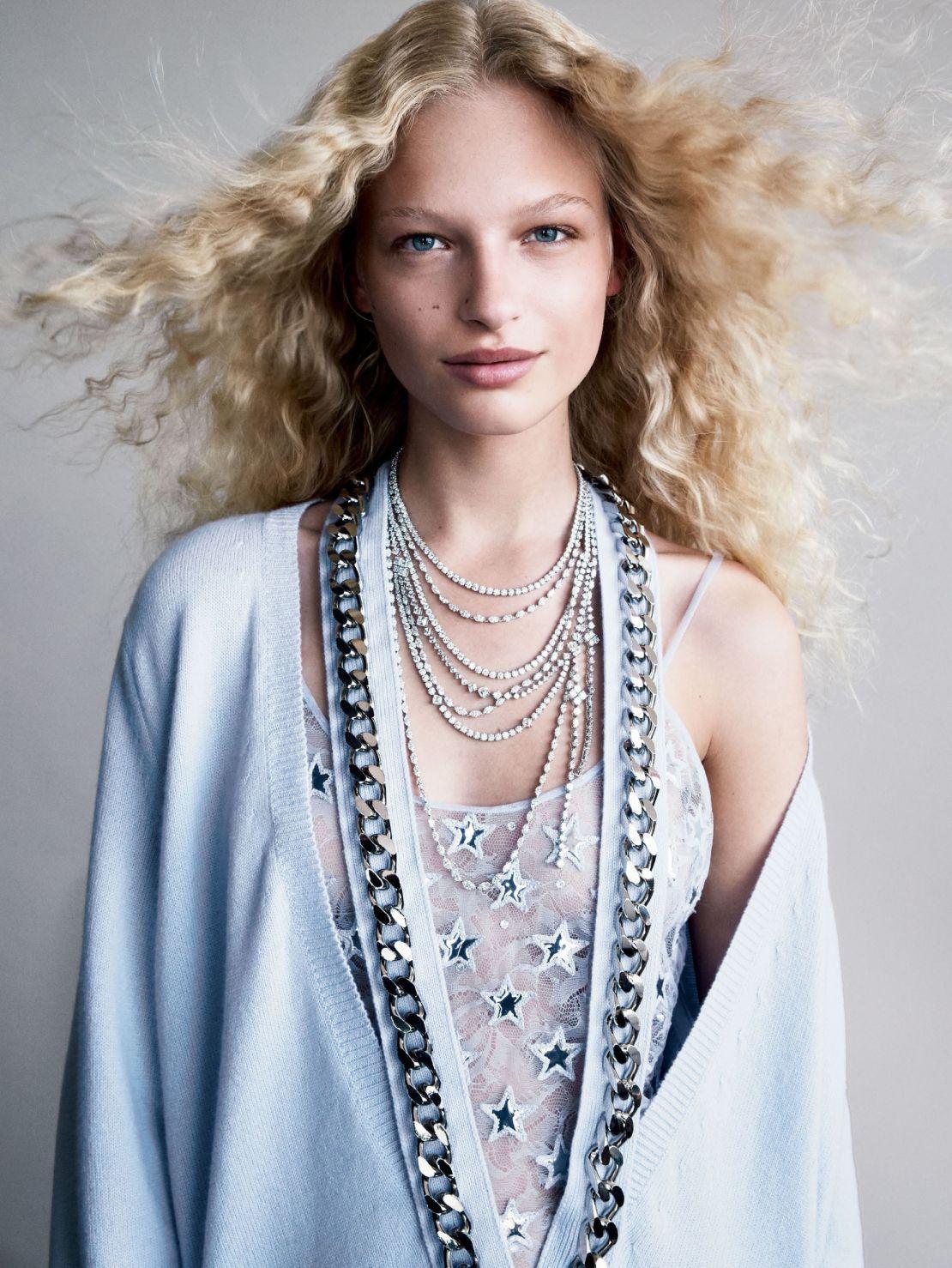 Frederikke Sofie by Patrick Demarchelier   Vogue US December 2015