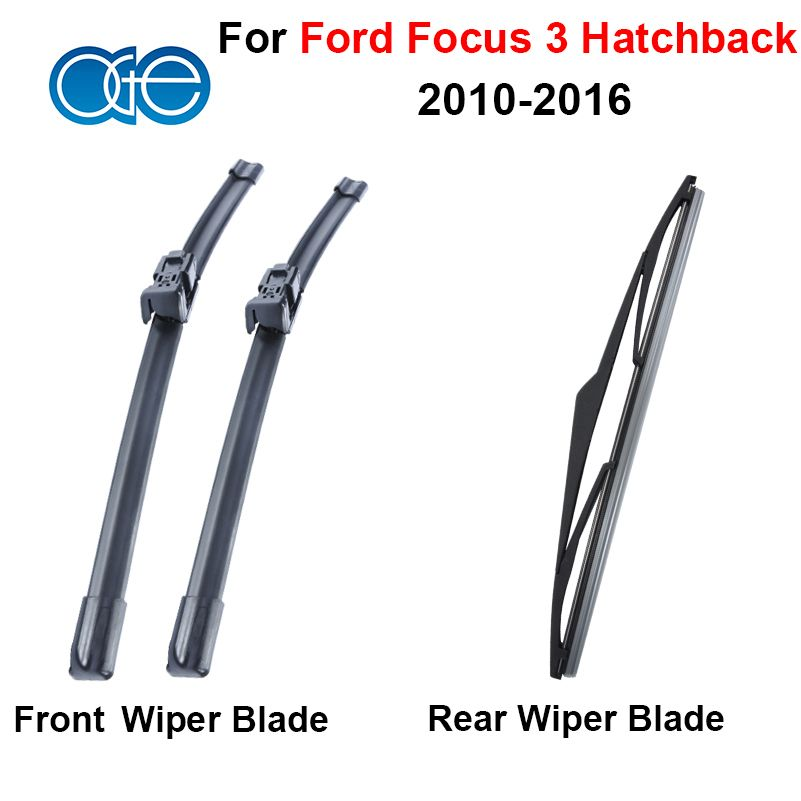 Windscreen Wiper Blade For Ford Focus 3 Hatchback 2010 2011 2012 2013 2014 2015 2016 Front And Rear Rubber Auto Car Windscreen Wipers Wiper Blades Ford Focus 3