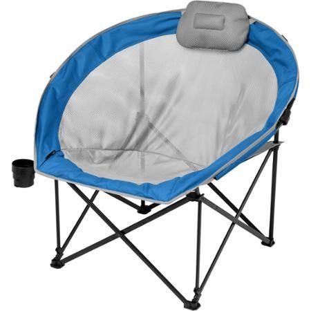 Stupendous Ozark Trail Oversized Cozy Camp Chair Blue Walmart Com Onthecornerstone Fun Painted Chair Ideas Images Onthecornerstoneorg