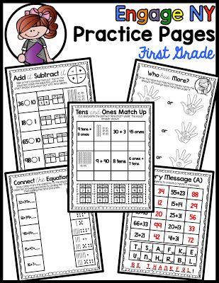 Engage Ny Math Practice Pages Module 6 Engage Ny Math Engage Ny Math Centers Kindergarten Eureka math grade module worksheets