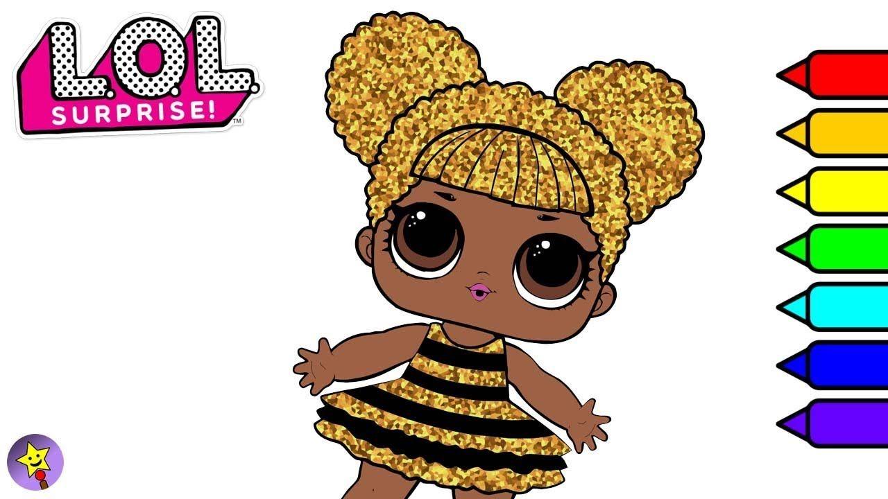 Digital Coloring Lol Surprise Dolls Queen Bee Lol Surprise Dolls Coloring Book Page Queen Bee Coloring Book Page Coloring Books Coloring Book Pages Happy Magic