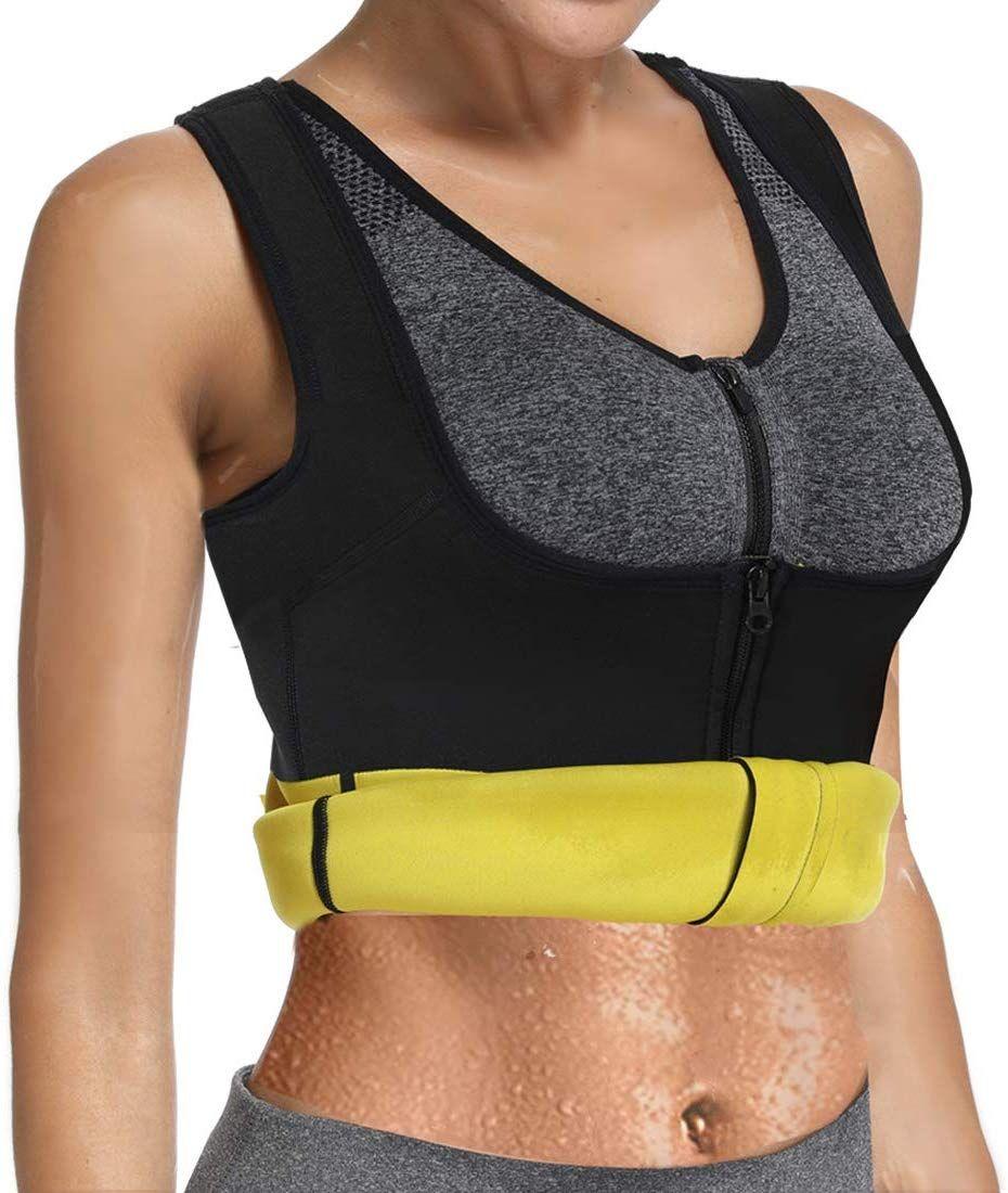 HOPLYNN Neoprene Sweat Waist Trainer Corset Trimmer Belt for Women Weight Loss Waist Cincher Shaper Slimmer   Outdoors  Fitness  Fitness TrimmersWomen