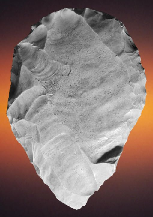 Largest Clovis Biface From The Blackwater Draw Site Native American