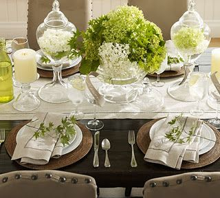 Simple But Elegant Table Setting