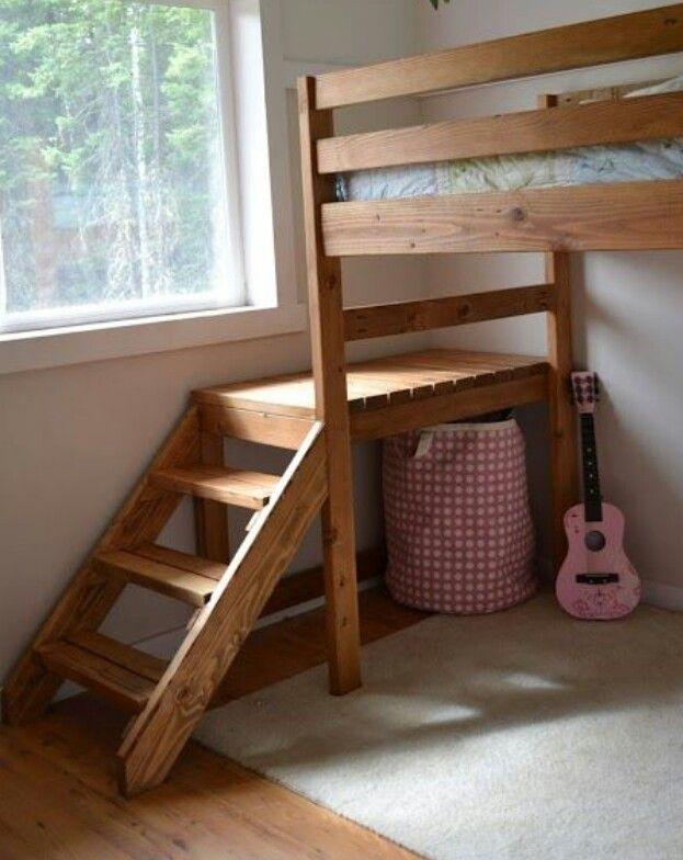 How To Build A Loft Bed Loft Bed Plans Diy Loft Bed Loft Bed