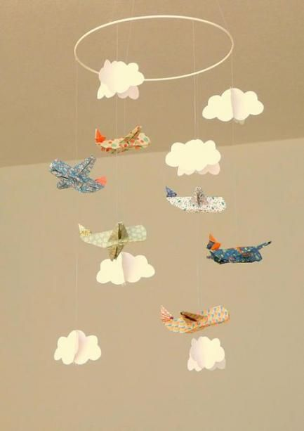 Photo of Origami Mobile Diy Paper Clouds 63 Ideas