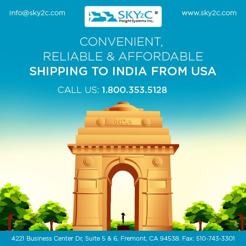 Worried About Moving Back To India Sky2c Offers Door Shipping Service From Usa At Affordable Rates