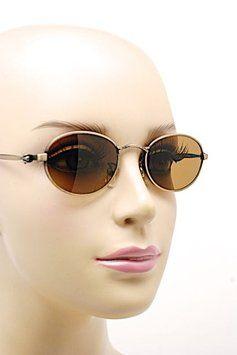 cedf1f922b Calvin Klein CALVIN KLEIN Bronze Oval Frame Brown Lens Sunglasses - CI 550  140 - Italy - NICE