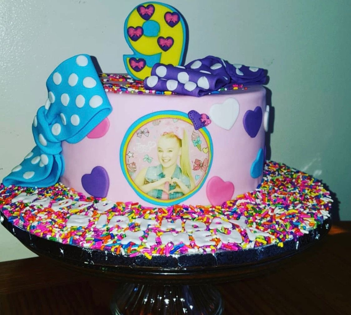 Jojo Siwa Birthday Cake Jojo Siwa Birthday Jojo Siwa Birthday