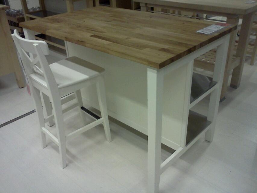 Ikea Kitchen Butcher Block Table : IKEA kitchen island w/ butcher block top Home Decorating Pinterest