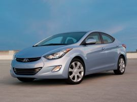 This is the car I really want - a blue 2012 Hyundai Elantra!