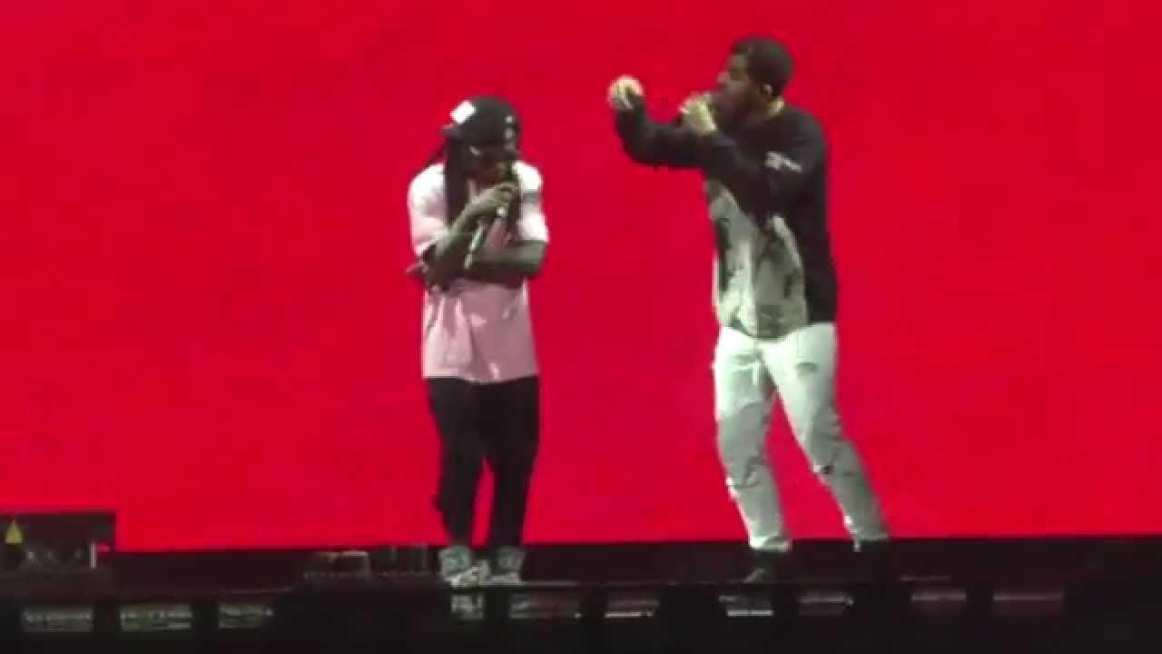 Drake Vs Lil Wayne Live Battle Dissing Each Other Lil Wayne Rap Battle Drake Live
