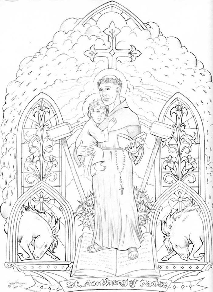 Pin by Finer Femininity Leane VanderPutten on Catholic Coloring ...