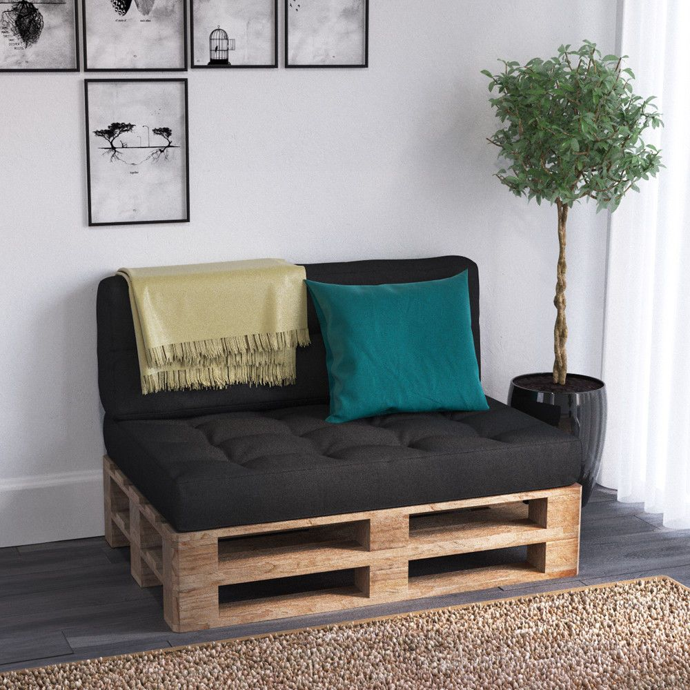 palettensofa kaltschaum kissen palettenm bel sofa palette palettenkissen couch garten. Black Bedroom Furniture Sets. Home Design Ideas