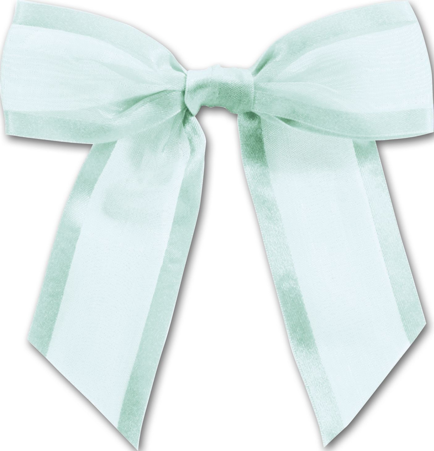a0f1640fa67e Bows - Light Blue Pre-Tied Organza Bow, 4 1/2' Bow Tie (12 Bows) -  BOWS-BOW-244-20 *** Read more at the image link.