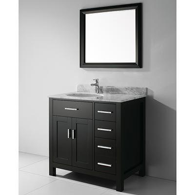 Art Kelia 36 Inch Contemporary Bathroom Vanity Discount Bathroom