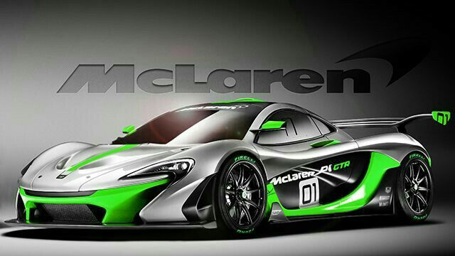 Lime Green Accents On An Amazing Car. The Mclaren P1 GTR