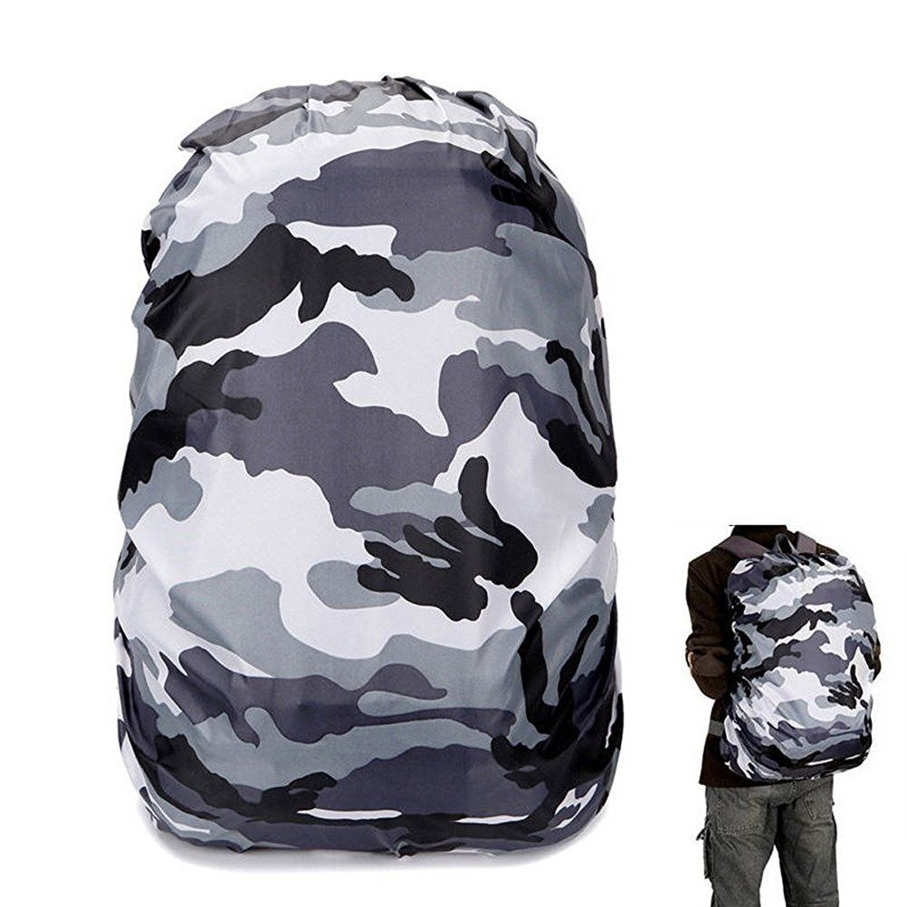 Ueetek 25 40l Waterproof Backpack Rain Cover Protection Rucksack Water Resist Cover For Hiking Camping Traveling Black Whi Waterproof Backpack Bags Travel Bag