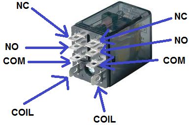 How To Connect A Dpdt Relay In A Circuit Relay Circuit Doubles