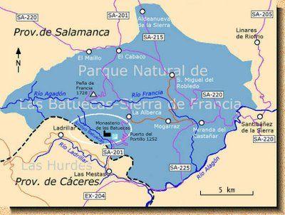 Escapadas Castilla Y León El Chorro De Las Batuecas Salamanca Parques Naturales Escapadas Salamanca