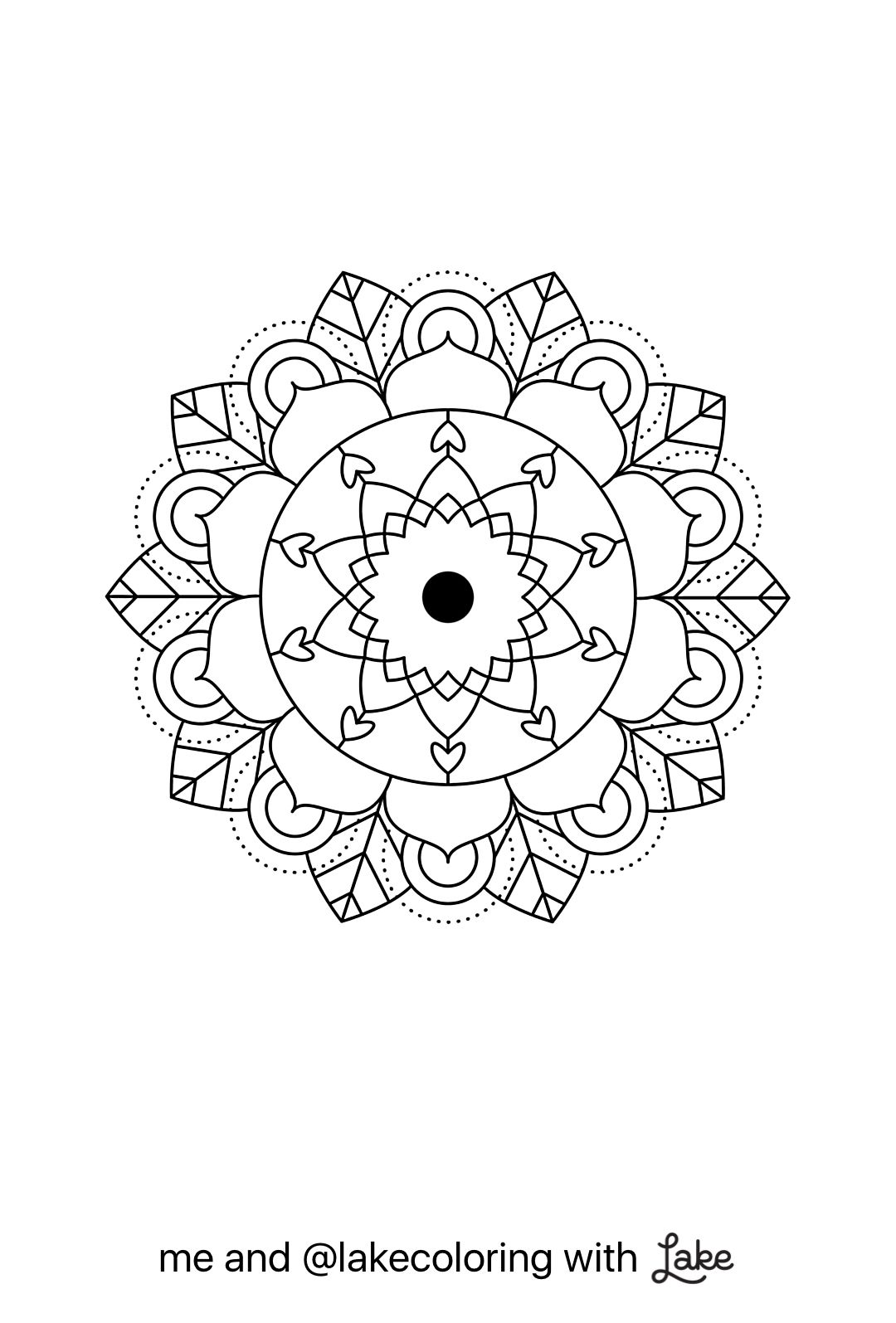 Coloring pages app - Coloring Page From Lake Coloring App